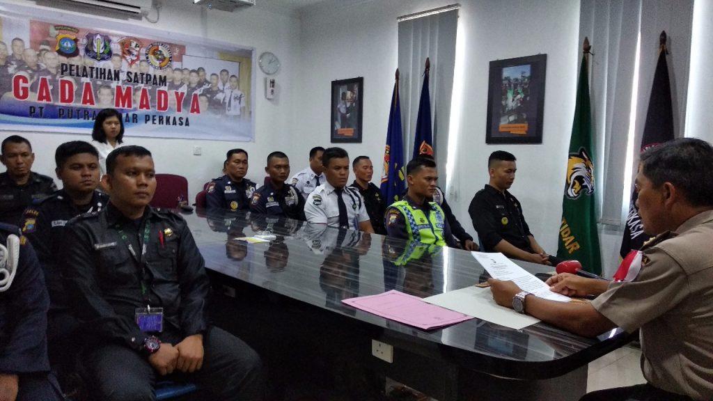 PTP Training Center melaksanakan Pelatihan Satpam Gada Madya