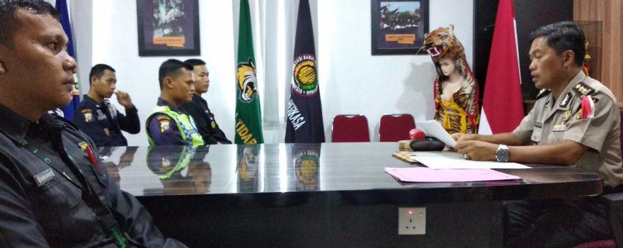 Pembacaan amanat Dir Binmas Polda Kepri oleh AKBP Rudi Syahriadi Idris - PTP Training Center