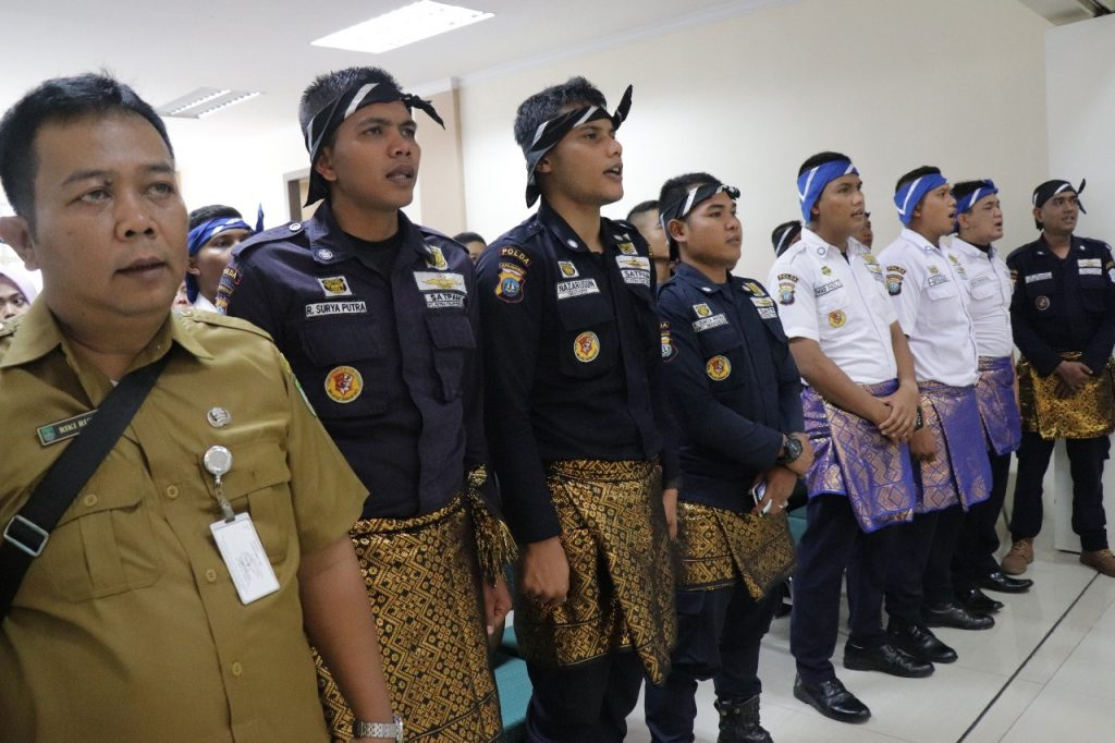 Sanggar Kebudayaan Satpam PT. Putra Tidar Perkasa - Tari Saman