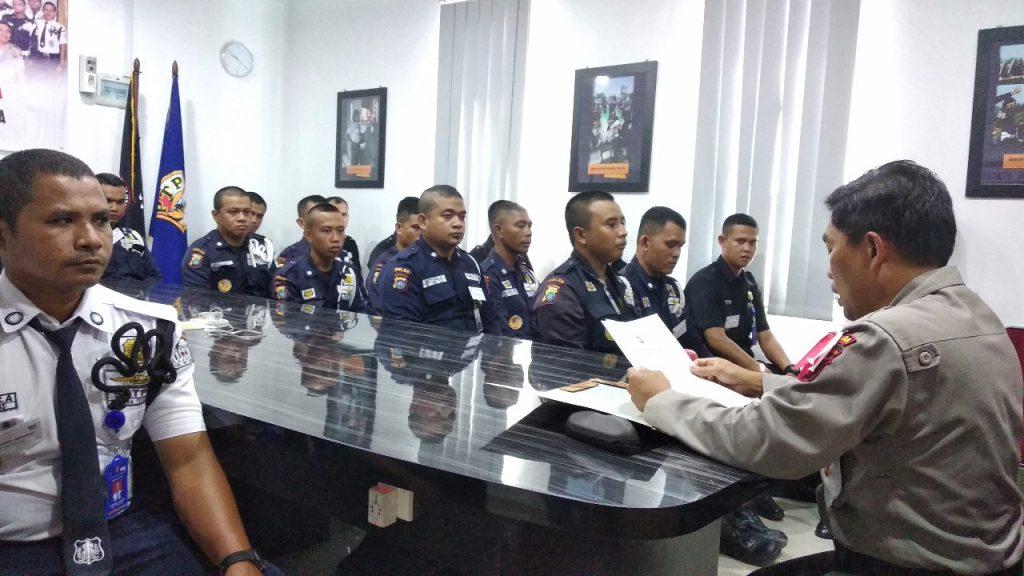 Amanat Dir Binmas Polda Kepri saat Pelatihan Gada Pratama