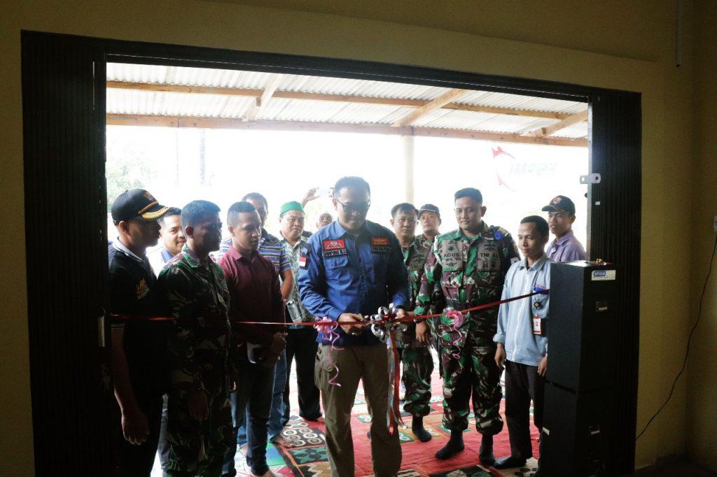 Direktur Utama PTP meresmikan kantor baru PTP di Bintan Island
