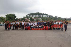 BNNP Kepri Lantik Relawan Anti Narkoba SPARTAN PTP