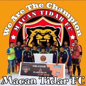 Tim Futsal Macan Tidar FC Raih Juara dalam Turnamen Aleadeva Cup 2018