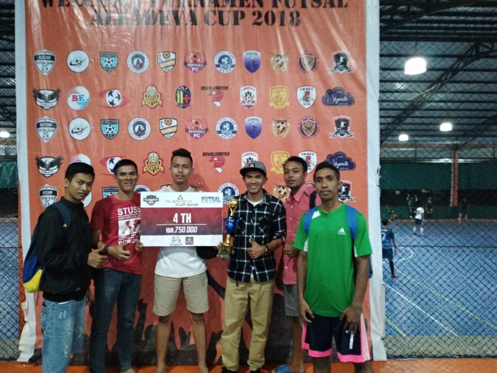 Macan Tidar FC menang juara 4 turnamen Aledeva 2018