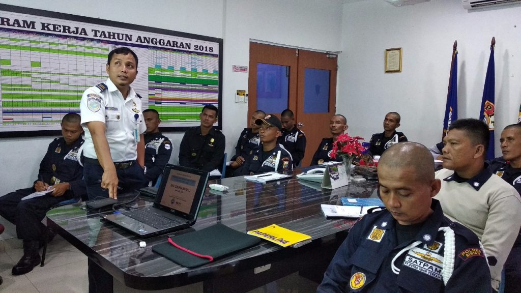 Pelatihan Port Security Guard - PT. Putra Tidar Perkasa