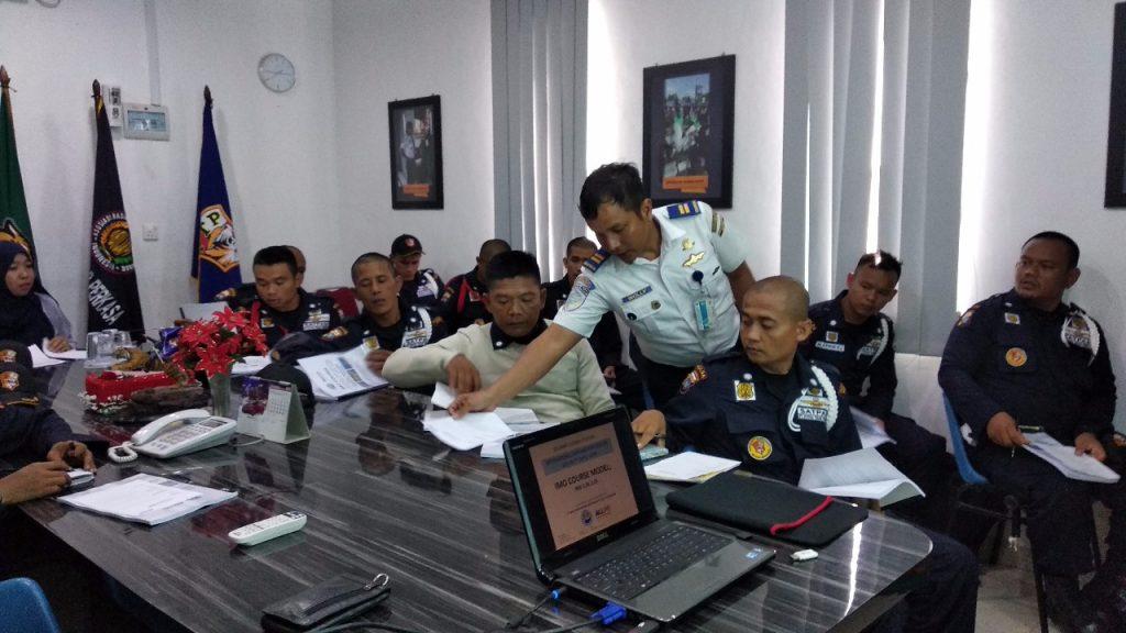 Pelatihan Satpam PSG - PT. Putra Tidar Perkasa