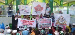 PTP Peduli Palu dan Donggala bersama HFL Hope For Life Batam