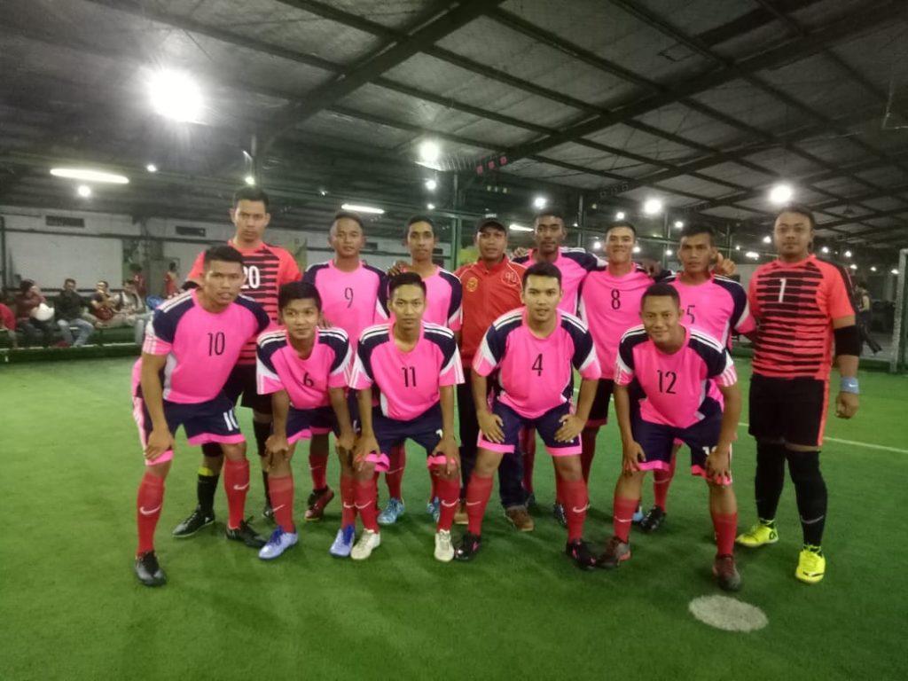 Tim Macan Tidar FC menang di Turnaman Trefeo
