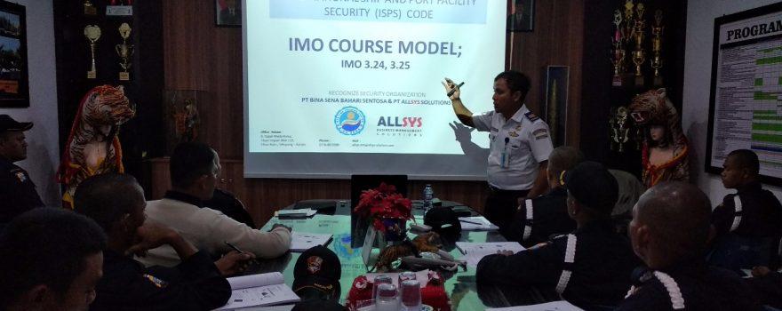 Traininag ISPS Code - PT. Putra Tidar Perkasa