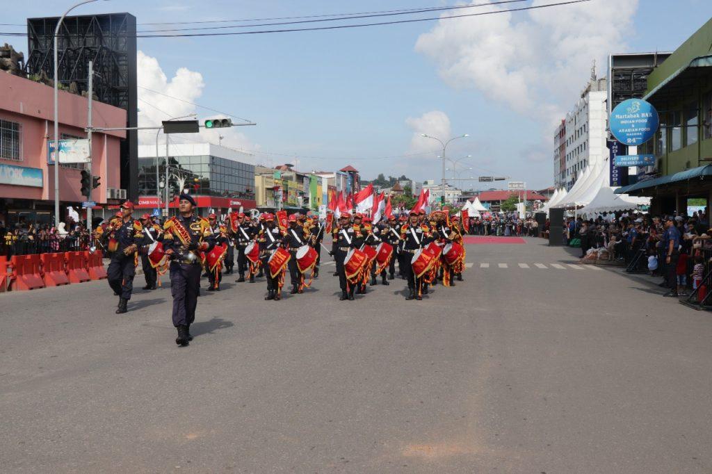 BP Batam International Culture Carnival 2018, Hebohkan Wisatawan dengan Drumband Satpam PTP