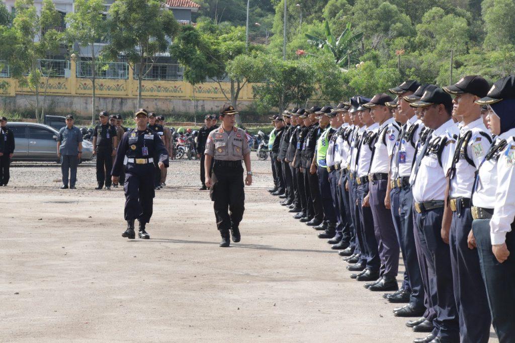 Ops Lilin Tidar 2018 - Apel Gelar Pasukan Kesiapan Pengamanan Natal dan Tahun Baru