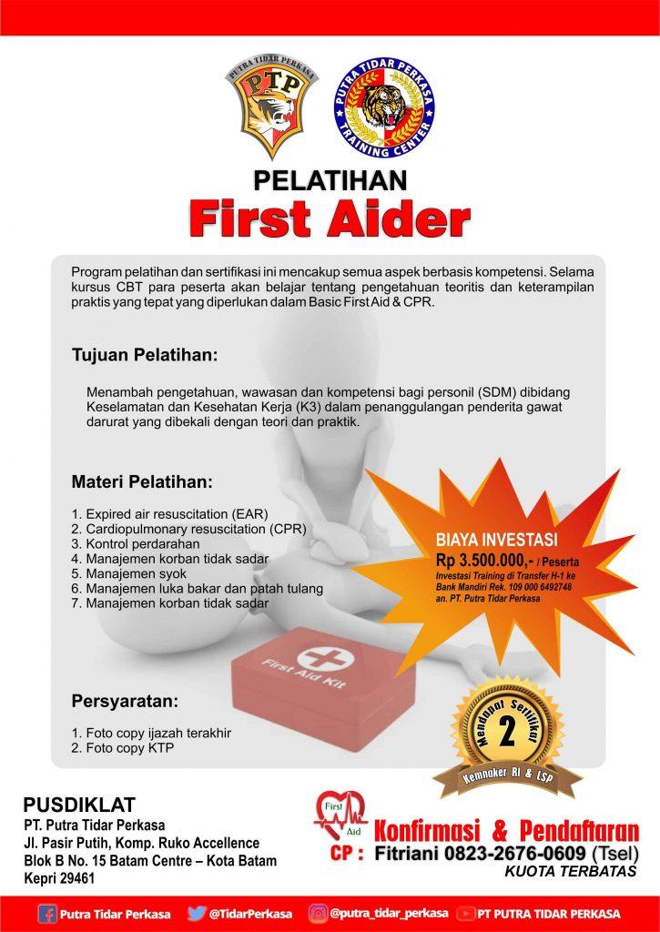 Pelatihan First Aider