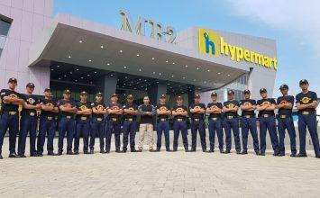 Penjagaan Personil Satpam PTP di MB2 Batam