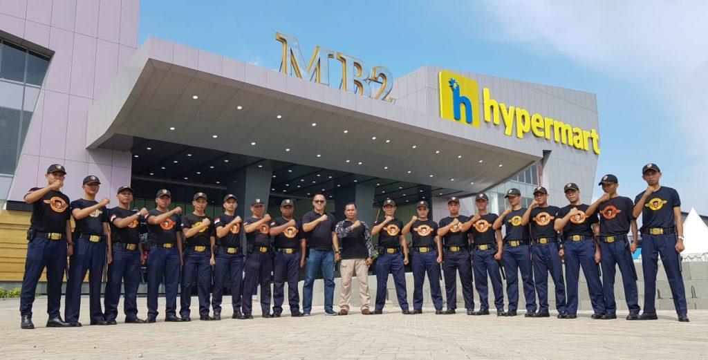 Penjagaan Personil Satpam PTP di MB2 Batam - Satpam PTP