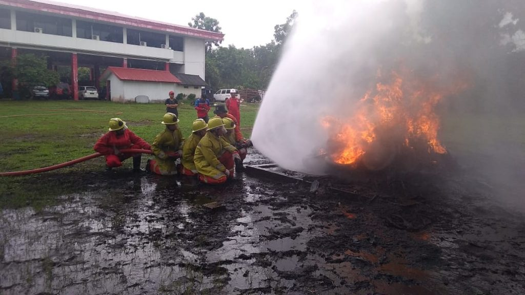 Training Fire Warden in Batam - PT. Putra Tidar Perkasa