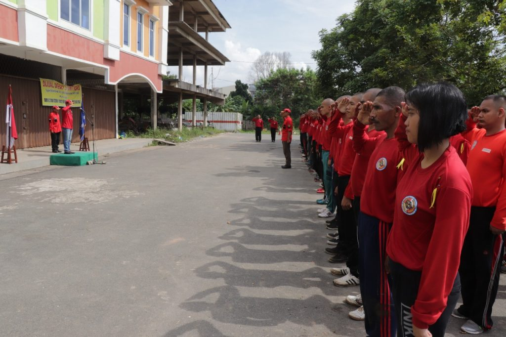 Diksar Satpam DIKTUK angkatan 41 - PTP Training Center