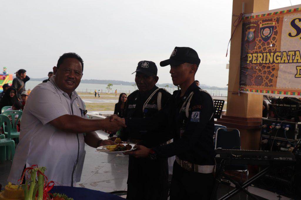 HUT Satpam ke 38 tahun di Tanjung Balai Karimun