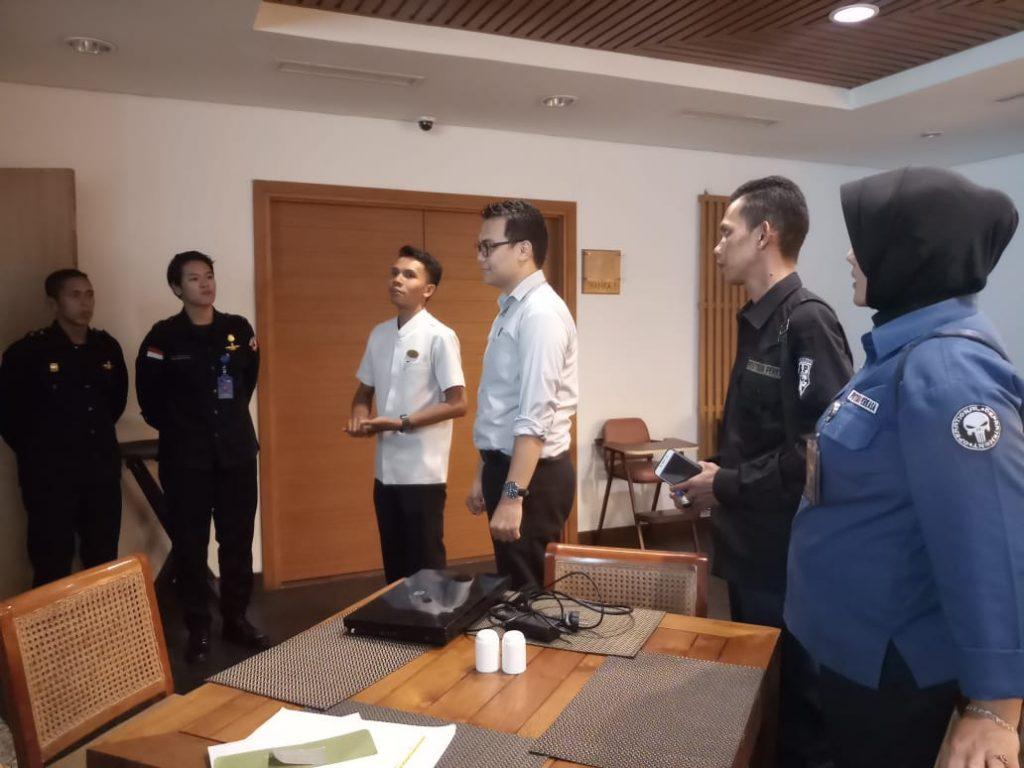 Acara Serah terima Pengamanan PTP - Hotel Santika Bagnka