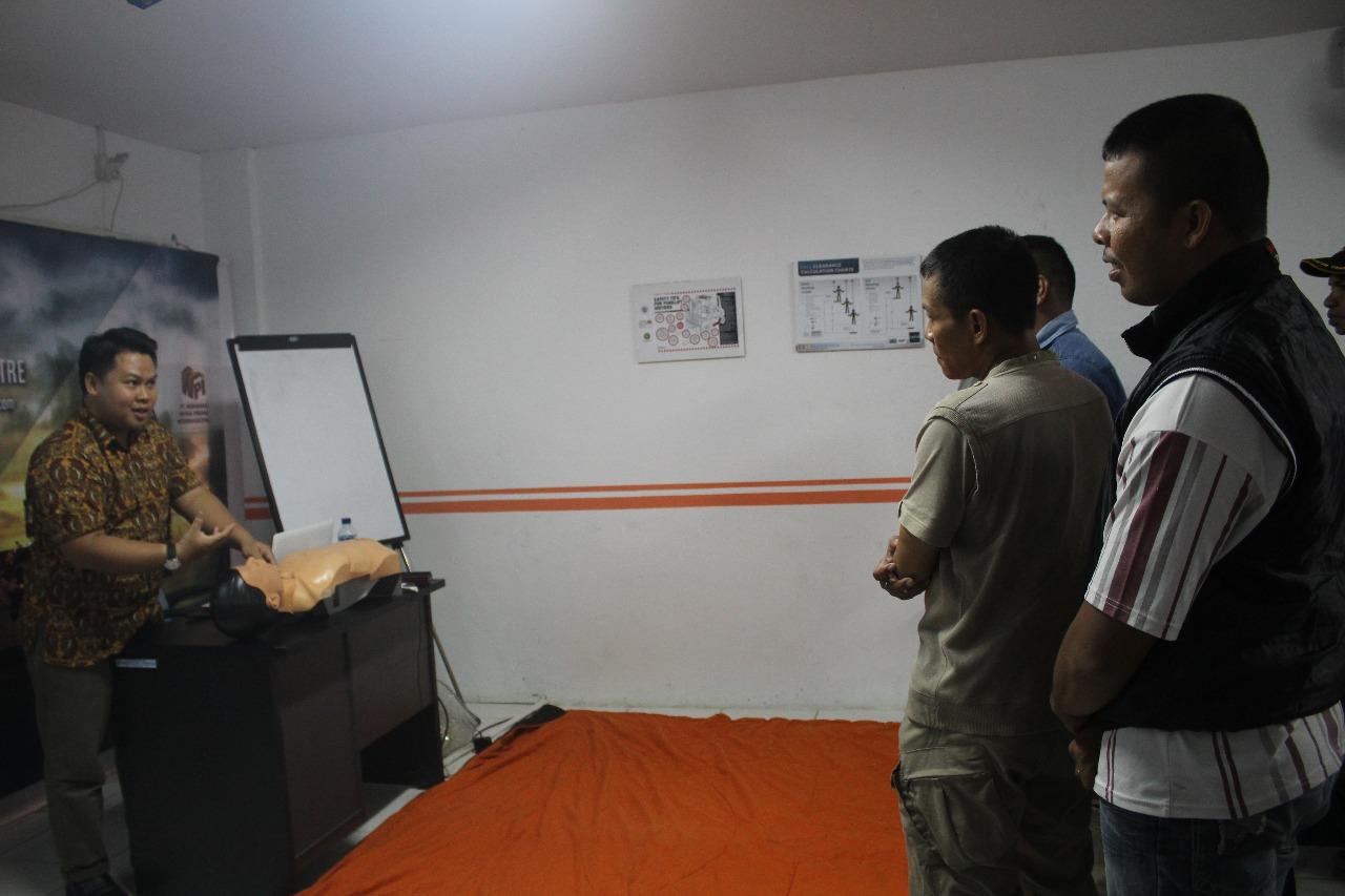 Tingkatkan Kompetensi Satpam, PTP Training Center Gelar Pelatihan Petugas P3K