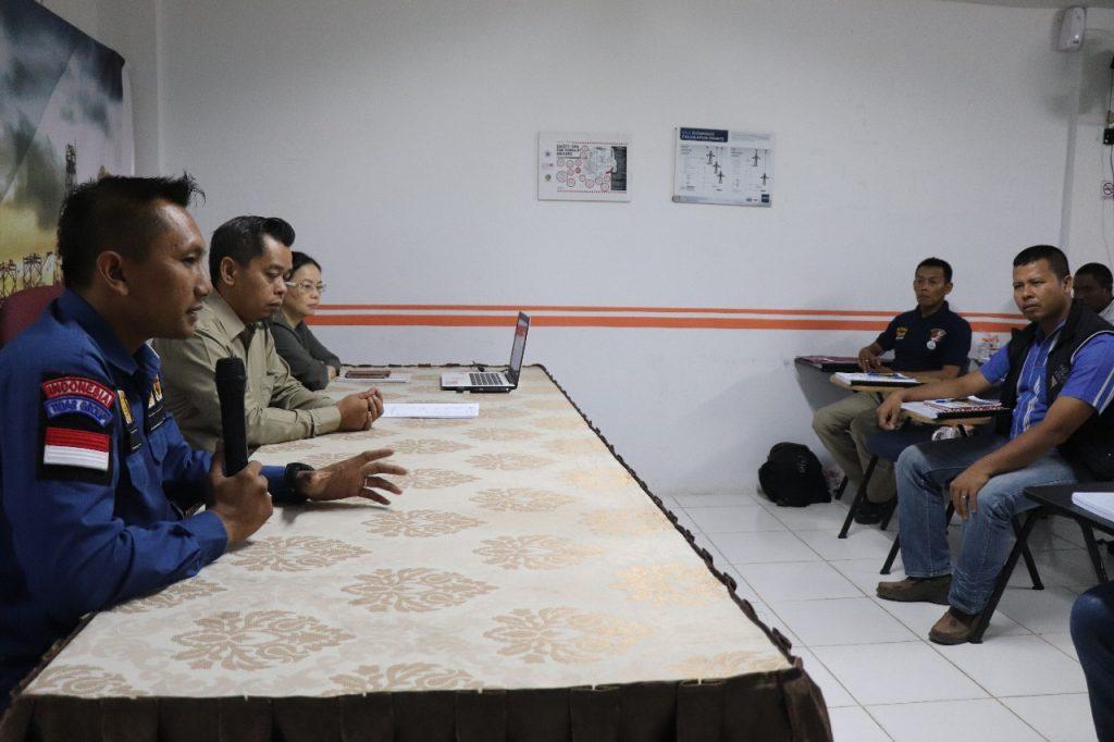 Pembukaan Pelatihan Petugas P3K - PTP Batam