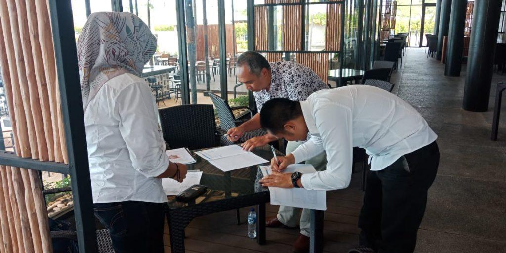 Pengamanan Putra Tidar Perkasa di Bintan Island