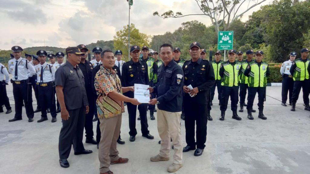 Dirops PTP laksanakan serah terima pengamanan di Treasure Bay Bintan - Jasa Satpam Bintan