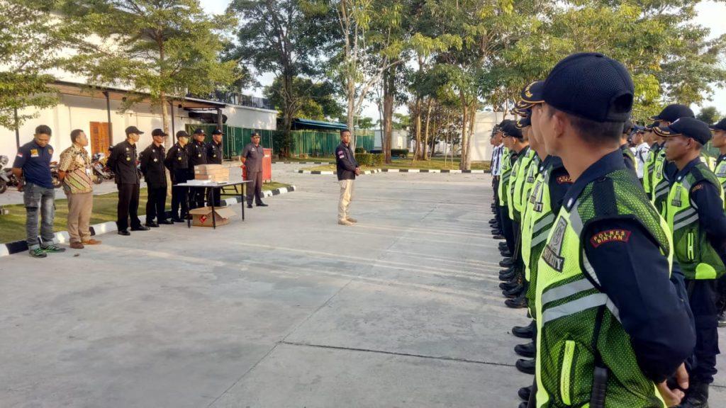 Pengarahan kepada Satpam PTP oleh Dirops - Jasa Satpam Bintan