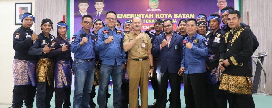 Sanggar Kebudayaan Satpam PTP meriahkan pembukaan pelatihan Disnaker Kota Batam