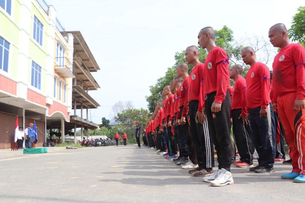 Diktuk Satpam PTP - Pendidikan dan Pembentukan Calon Satpam - PTP Training Center - Diktuk angkatan 43