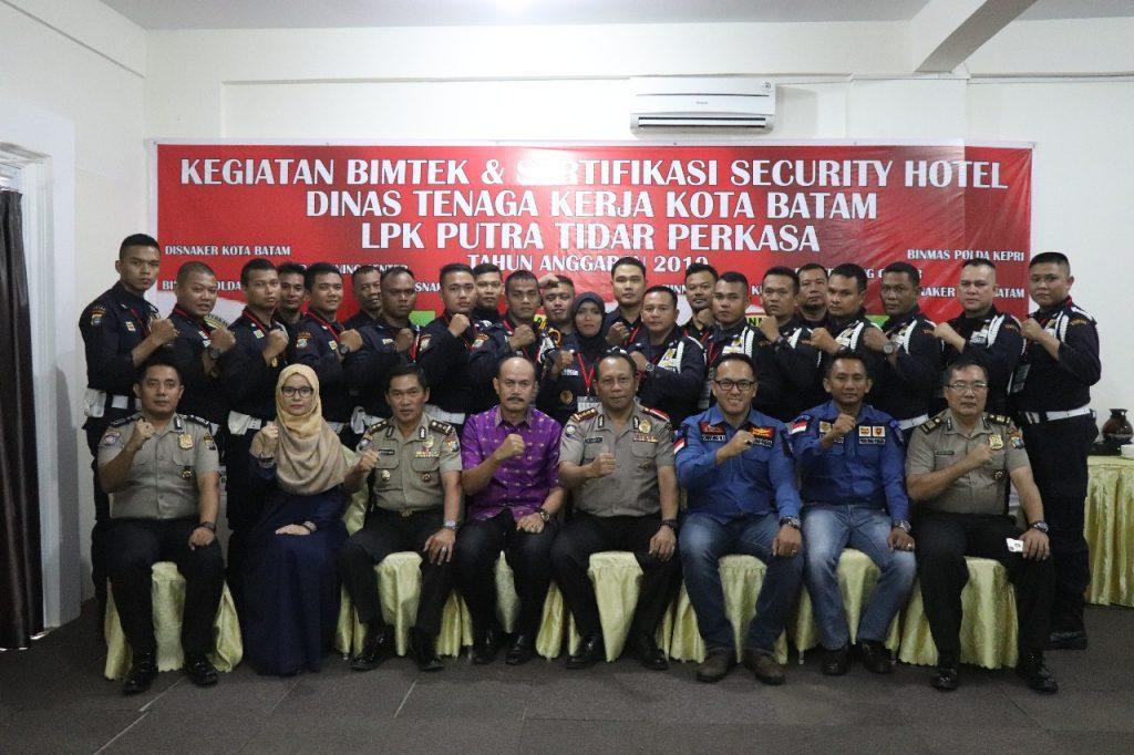 Jasa Pelatihan Satpam Batam - Pelatihan Satpam Gada Madya telah dibuka di PTP Training Center