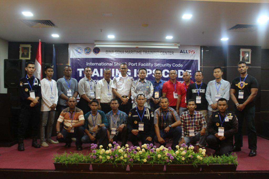 Jasa Pelatihan Satpam - Satpam PTP ikuti pelatihan ISPS Code - Port Security Guard