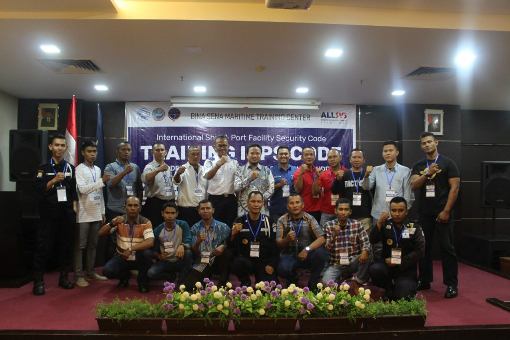 Jasa Pelatihan Satpam - Satpam PTP ikuti pelatihan ISPS Code - Port Security Guard - PTP Training Center