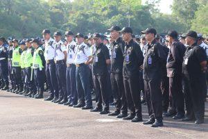 Apel Gelar Pasukan Pengamanan Pemilu 2019, Satpam PTP Ikrar Bersama Pengamanan Swakarsa Indonesia