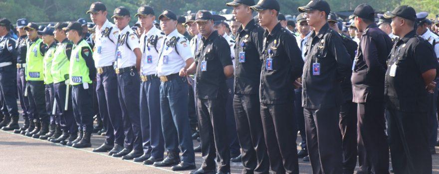 Jasa Satpam di Kota Batam - Putra Tidar Perkasa - Apel Gelar Pasukan Pengamanan Pemilu 2019