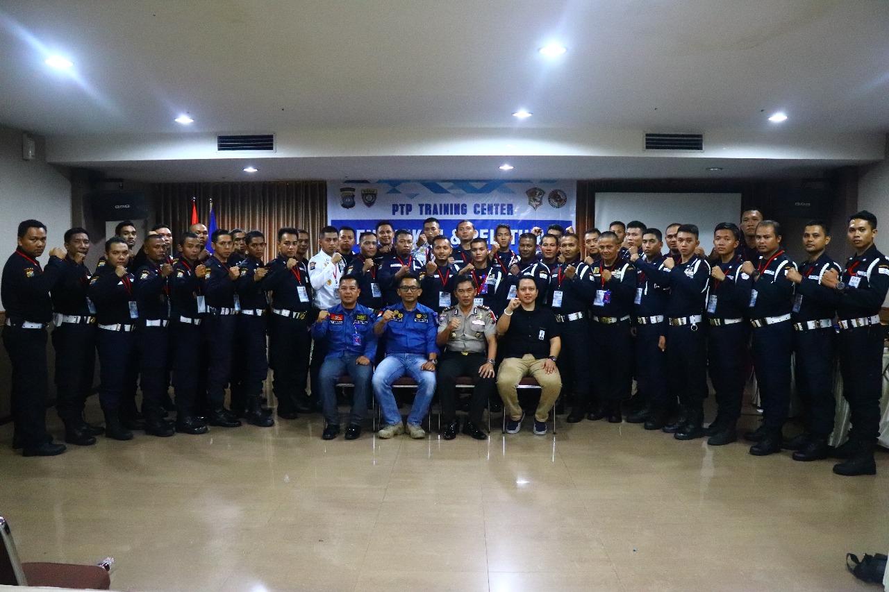 pelatihan satpam gada pratama - PTP Training Center - Kota Tanjungpinang -Putra Tidar Perkasa