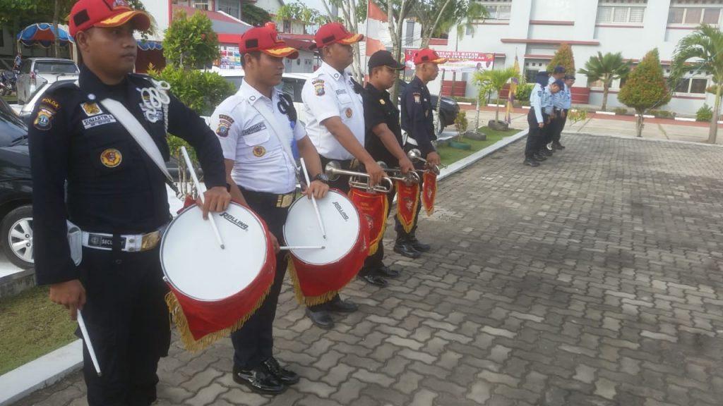 Drumband Canka Putra Perkasa - Genderang dan Trompet meriahkan acara Lapas Klas IIA Barelang Batam