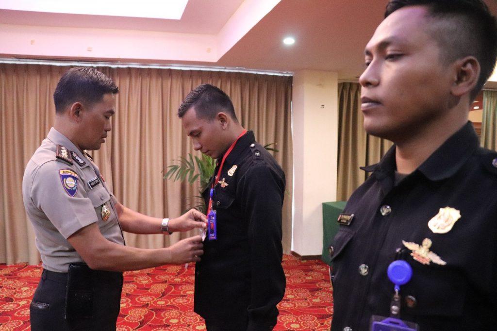 Pembukaan Pelatihan Satpam Gada Pratama angkatan 37 - LPK Putra Tidar Perkasa