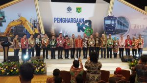 PTP Raih Kategori Gold dalam Penghargaan K3 tahun 2019 dari Kemnaker RI
