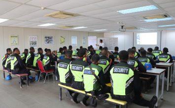 Security Guard Service In Batam - Training ISPS Code - PT. Putra Tidar Perkasa