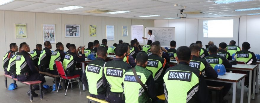 Security Guard Service In Batam - Training ISPS Code - PT. Putra Tidar Perkasa