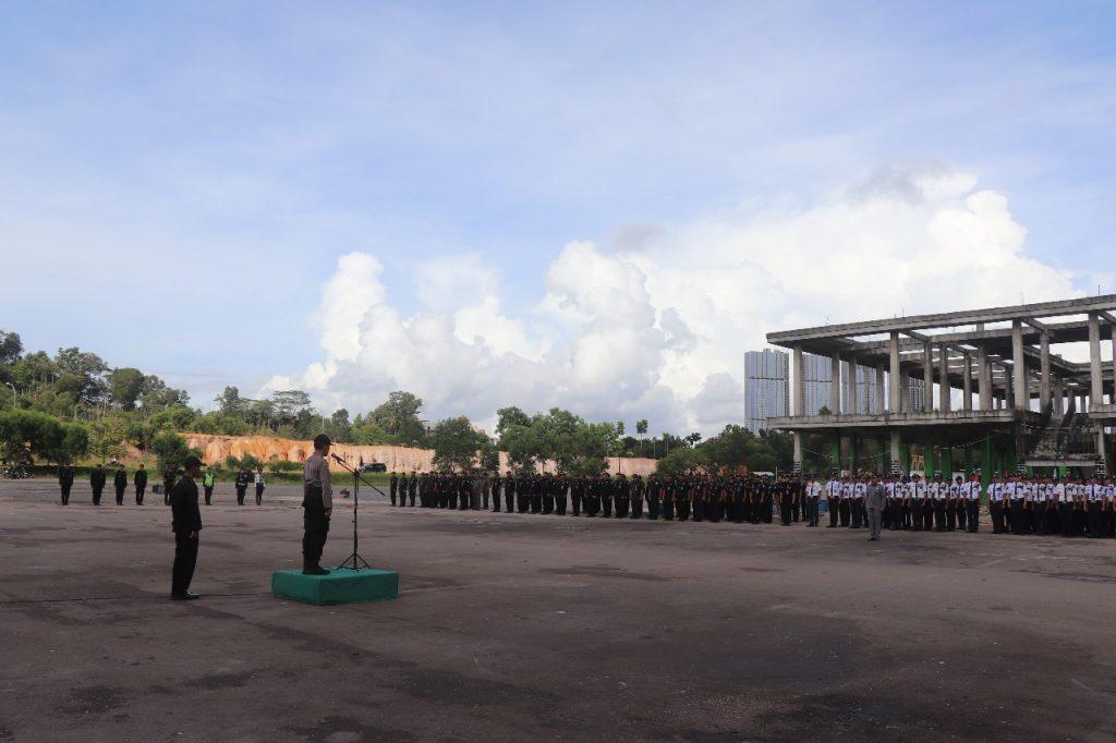 Apel OPS Ketupat Tidar 2019 - Jasa Pengamanan PT. Putra Tidar Perkasa - Amanat Kasubdit Satpam Dit Binmas Polda Kepri