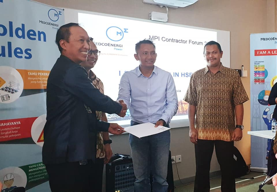 Jasa Keamanan di Batam - Putra Tidar Perkasa dapat rekomendasi Vendor di Medco Power Indonesia