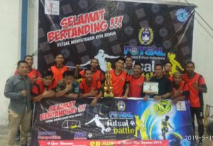 "Tim Futsal Satpam ""Macan Tidar FC"" Juarai Respect Mini Cup Tournamen Ramadhan"