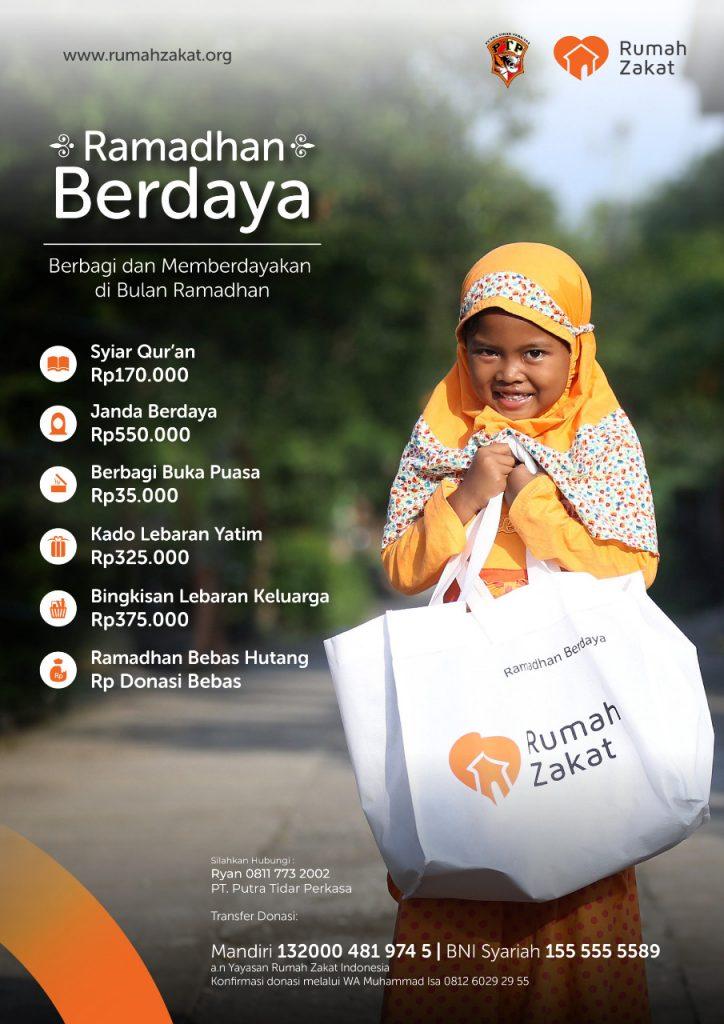 Program Rumah Zakat Ramadhan Berdaya