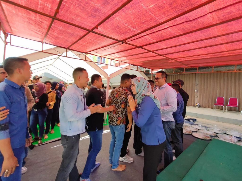 Halal Bihalal lebaran 1440h - Satpam Indonesia Hebat - PT Putra Tidar Perkasa ---