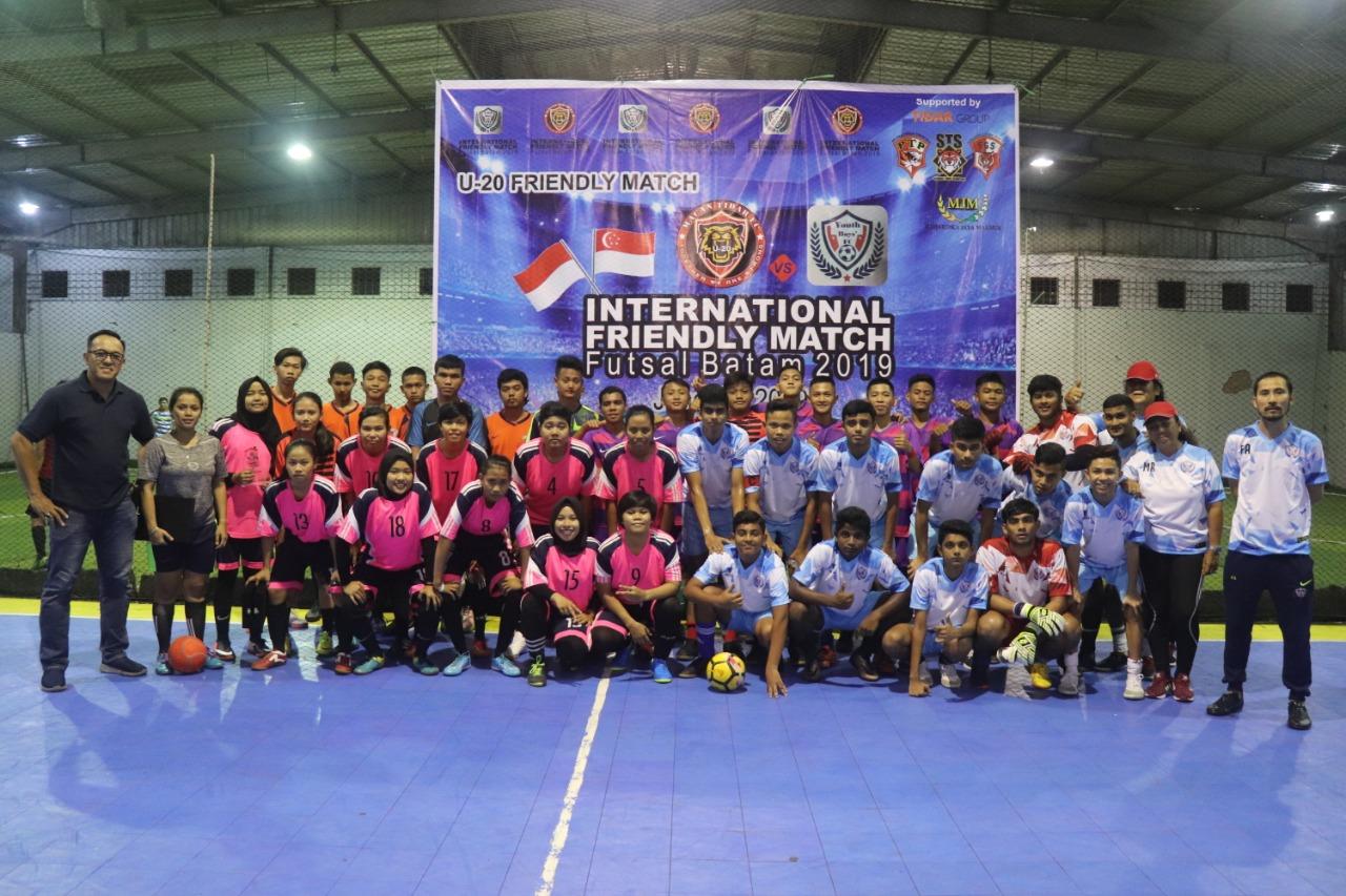 PTP Ajak Kaum Milenial Jauhi Narkoba dengan Tanding Persahabatan Internasional U-20 Futsal