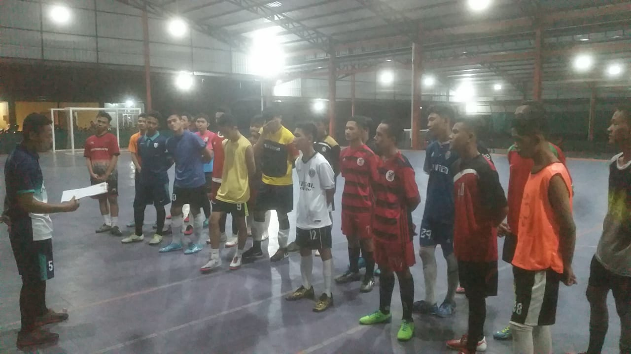 You are currently viewing Gelar IFL Friendly Match 2019, PTP Adakan Ajang Pencarian Bakat Pemain Futsal