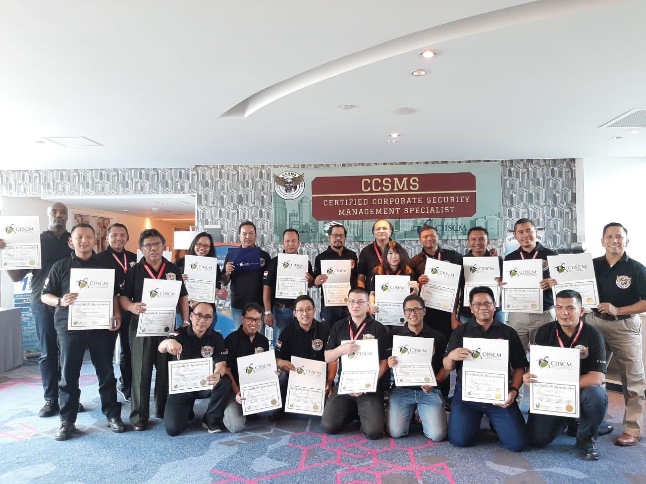 Tingkatkan Kompetensi Tenaga Ahli, PTP Ikuti Pelatihan Keamanan Perusahaan & Manajemen Risiko berakreditasi Internasional