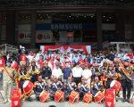 Drumband Satpam Canka Putra Perkasa - Kirab di Nagoya Hill Mall 17 Agustus 2019