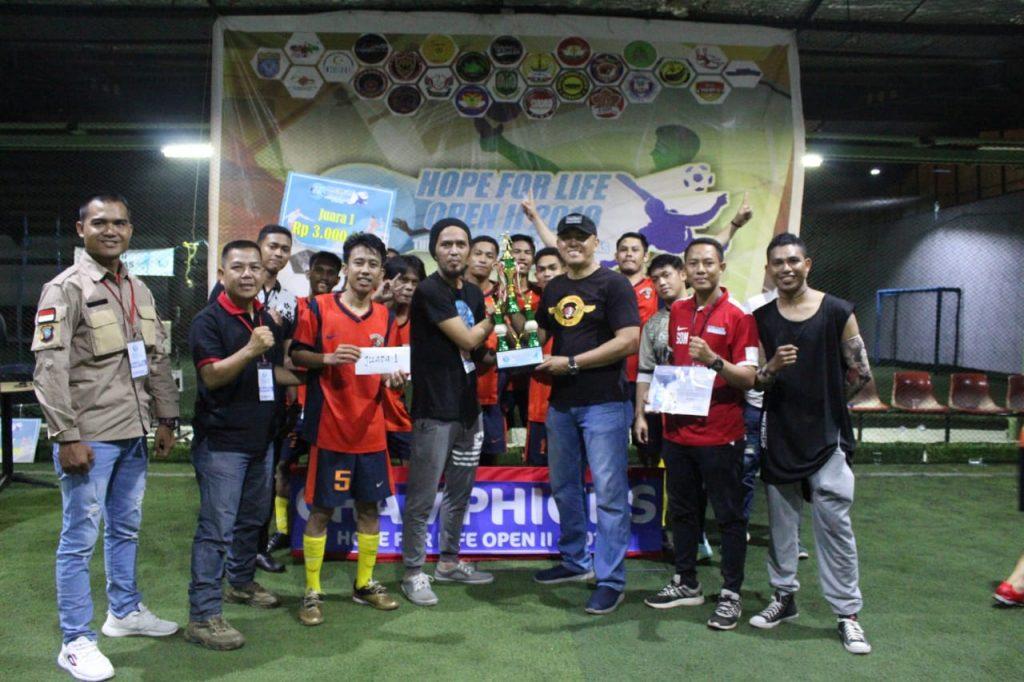 Macan-Tidar-FC-Juarai-Hope-For-Life-Open-II-2019